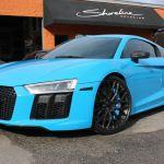 Shoreline_Audi_R8_Custom_Wheels_Painted_Brake_Calipers_Mexico_Blue_V10_Plus_PedalBox