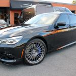 Shoreline_Motoring_BMW_B7_Alpina_Brushed_Tinted_Clear_Custom_Wheels_PedalBox_Black-out_Trim_Custom_Paint