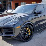 Shoreline_Motoring_Porsche_PedalBox_Cayenne_Turbo_S_Avant_Garde_Wheels_22_Inch_Gloss_Black_Pirelli_P_Zero